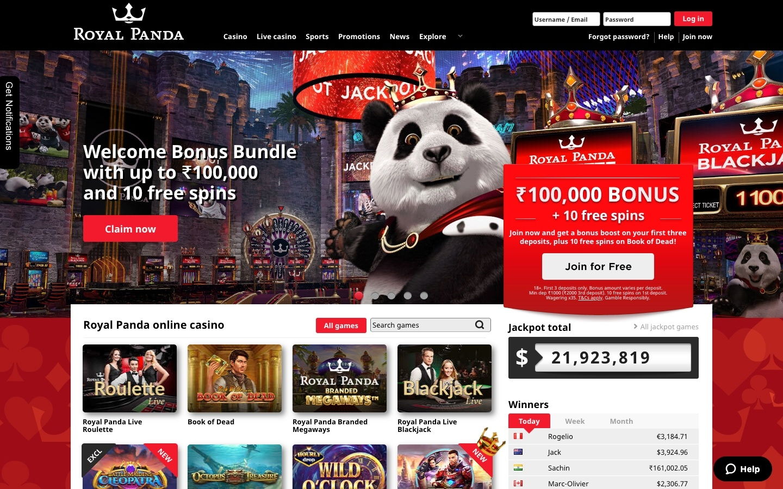 Royal Panda bitcoin freebet 476349