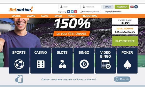 Betmotion website jogos Vegas 390405