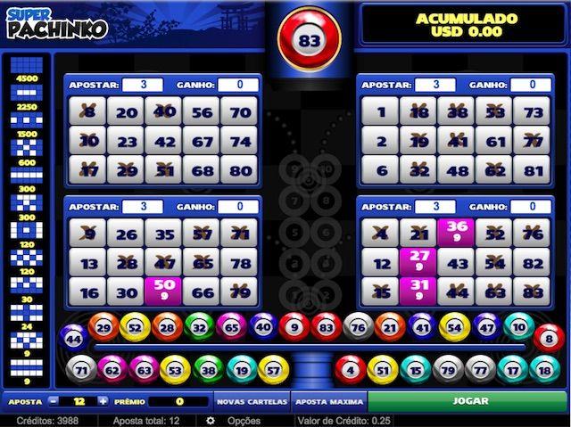Faturamento casino bingo 311623