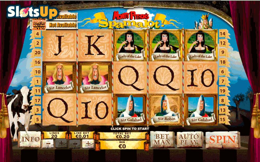 Spamalot casino Brasil rock 632996