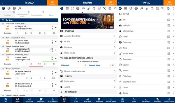 Rivalo app lost caça 230443