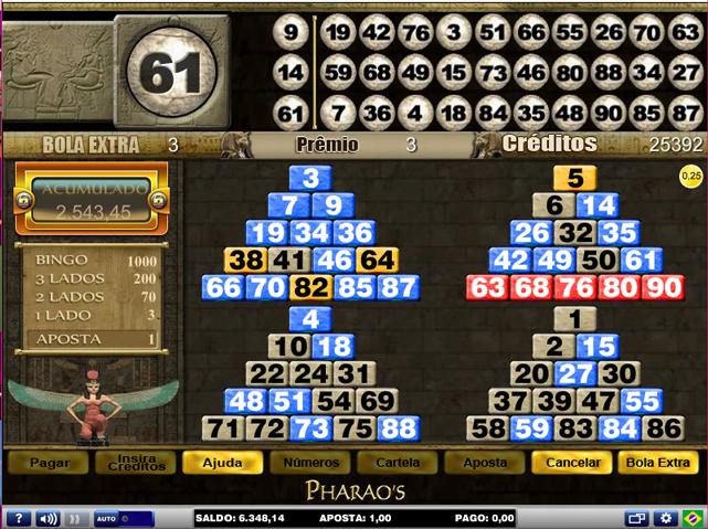 Pachinko vídeo bingo 501311