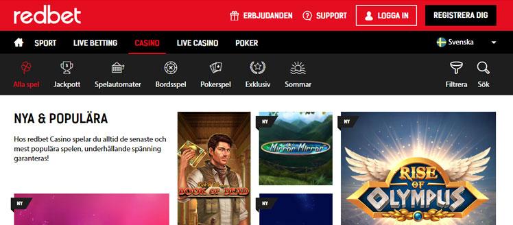 Casino games redbet sports 313247