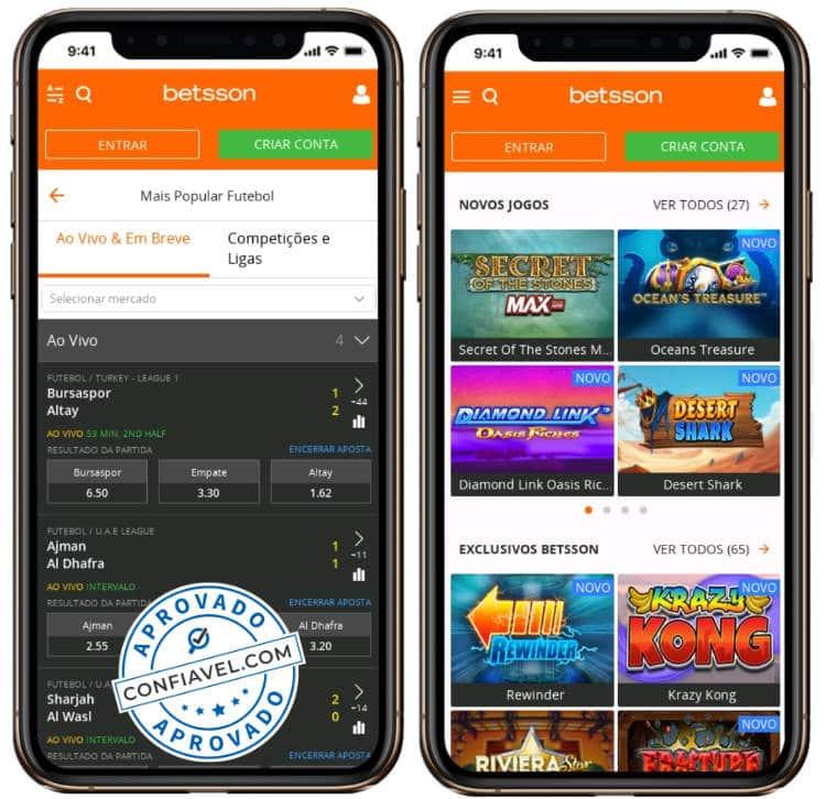 Betsson Brasil casinos 129723