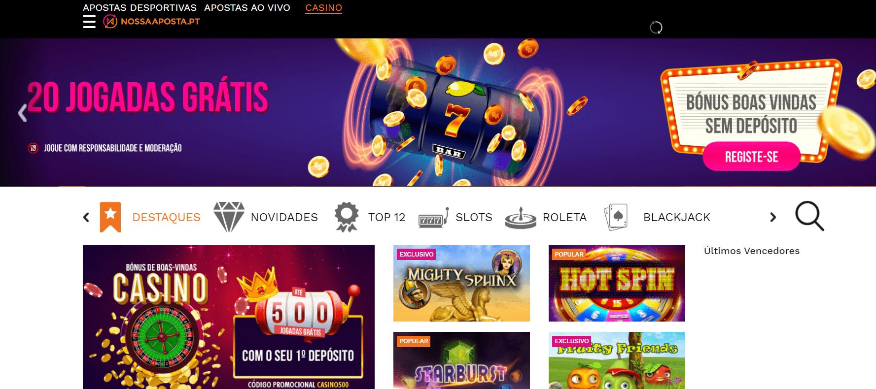 Casino em Portugal ganhe 292247