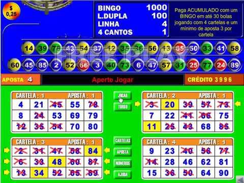 Bingo eletronico 323620