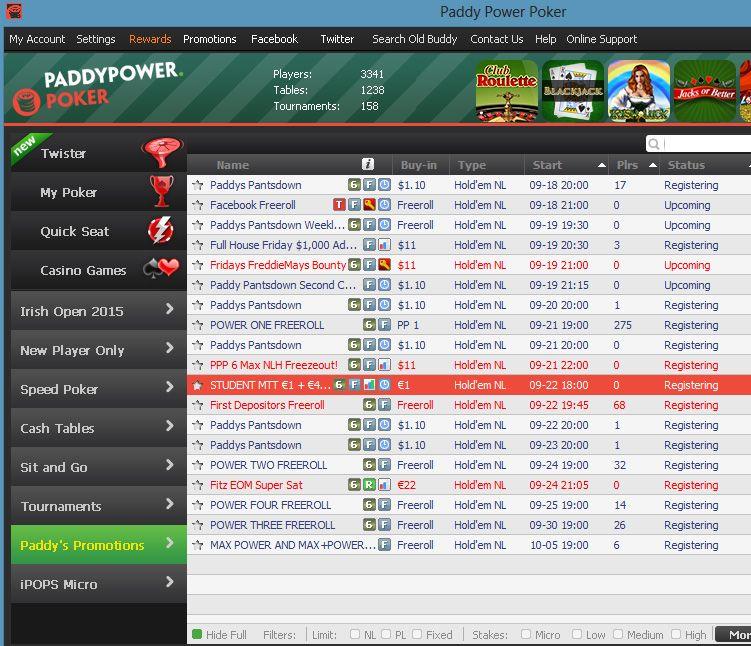 Paddy power assistência poker 592796