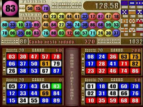 Jokerball vídeo bingo 285480