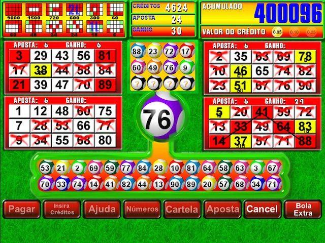 Jokerball vídeo bingo 310561
