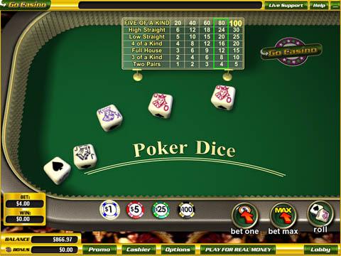 Poker dice 154173